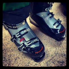 Space-age shoes!