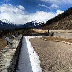 Road trip Lake Louise to Banff, Alberta.