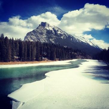 Mr Rundle 1 Banff, Alberta.