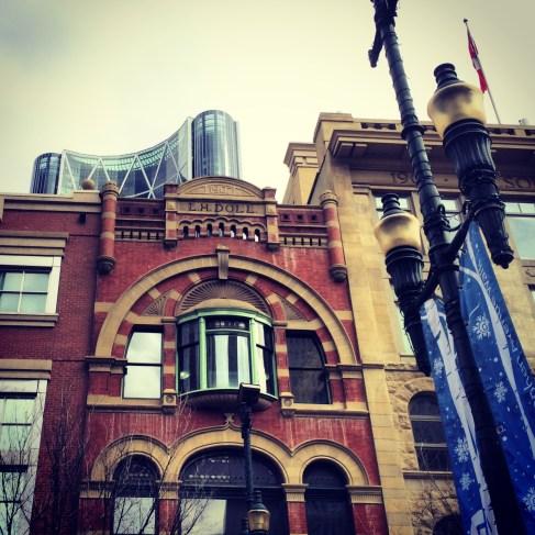 Downtown Calgary.
