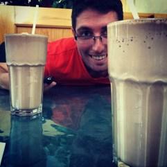 Milkshakes as big as your face.