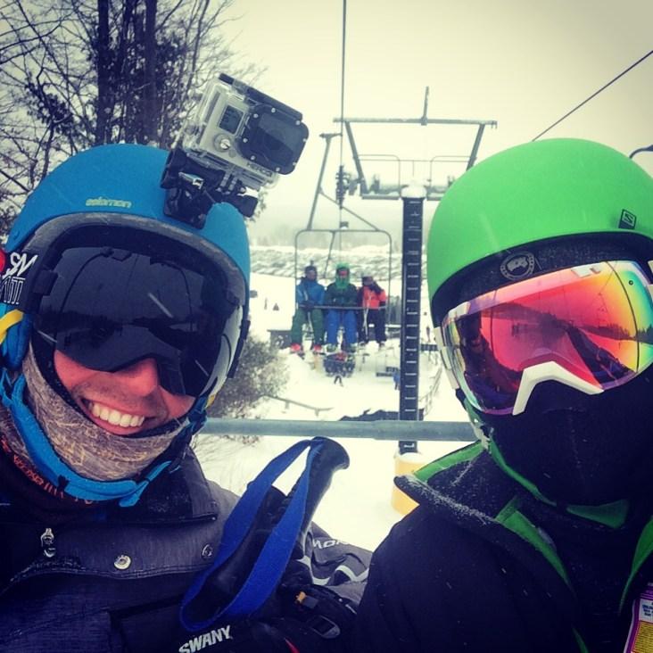 Day 603 Ski Day, MSLM.
