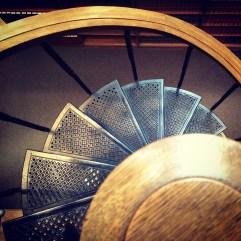 Stairs, Osgoode Hall. Toronto.