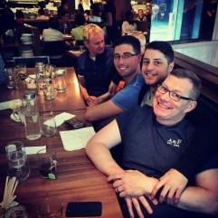 Dave, Dan, Pete & Royden