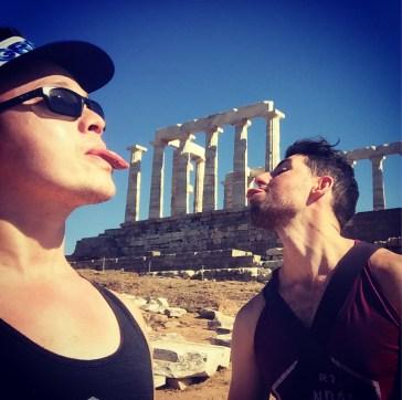 Temple of Poseidon #Lickingthings