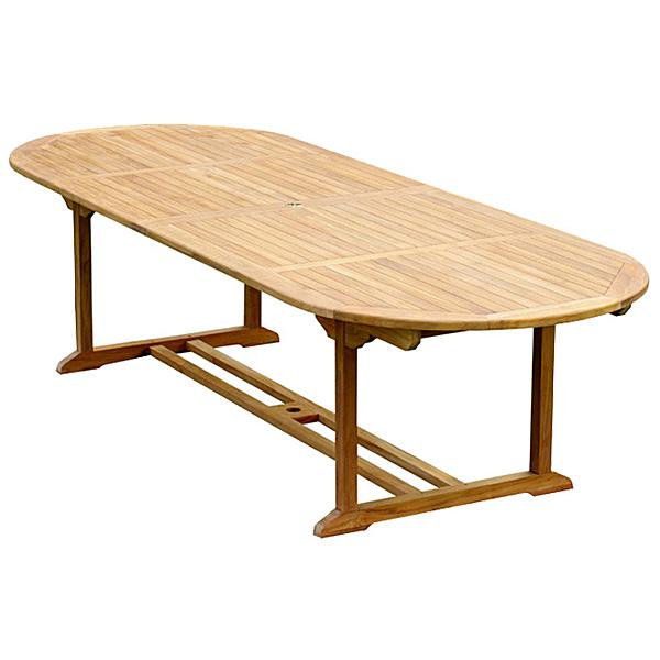 Large Teak Outdoor Table - TOTT028 - Wholesale Teak Furniture