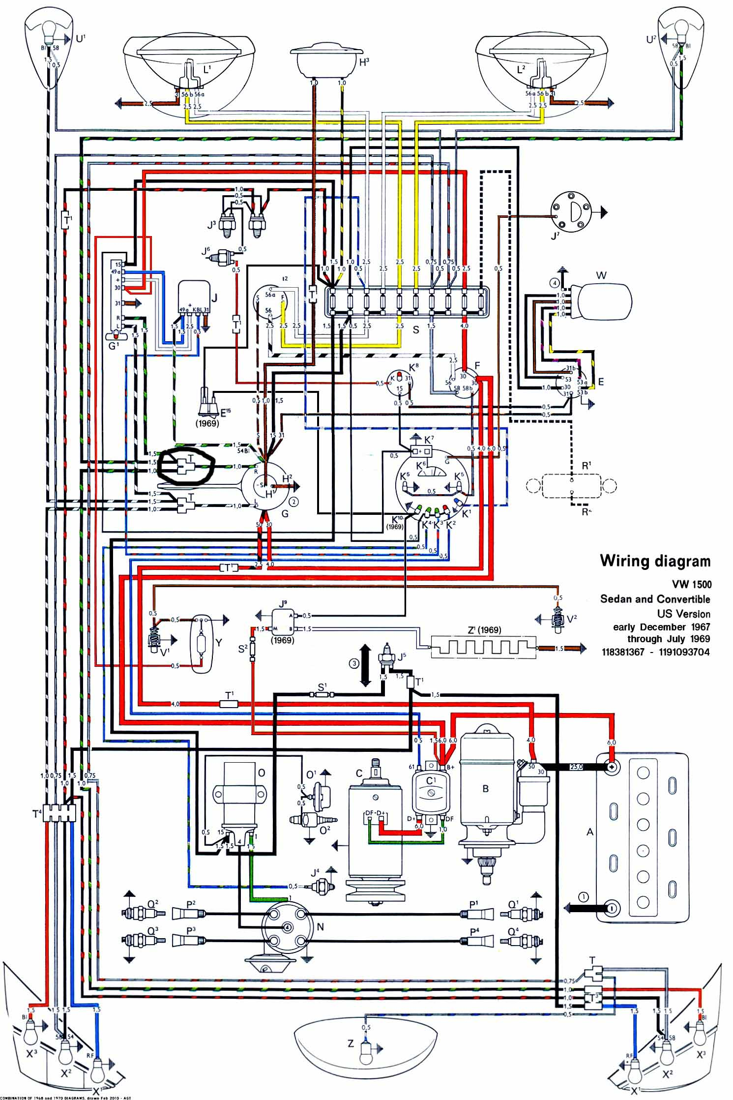 wiring installation diagram farmall cub for 1971 vw beetle  the