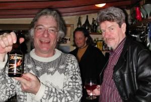 """Stephen """"Lucky"""" Mosko, Martin Herman & James Tenney"""