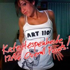 Kate HEspenheide, Fall '08