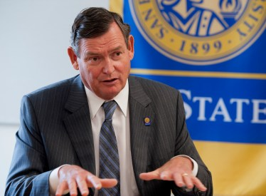 Tim White's 1st year as CSU Chancellor