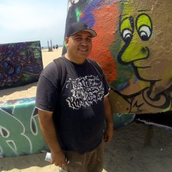 Our awesome host & part-time Graffiti Writing Teacher, Lostone JSK
