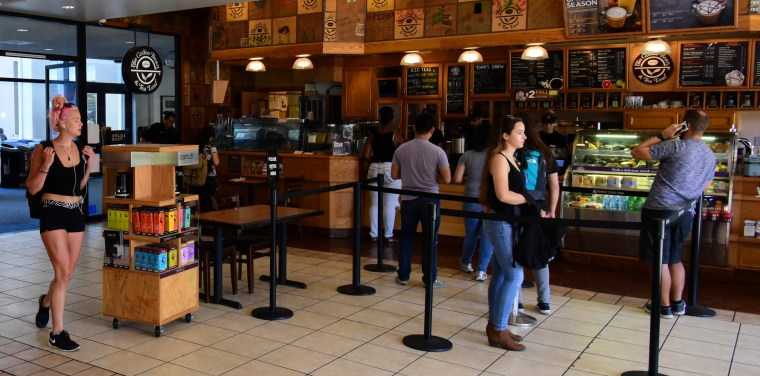 Coffee Bean & Tea Leaf at the CSULB University Student Union