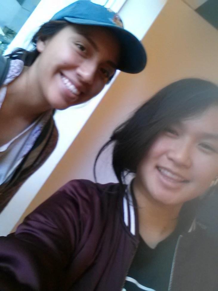 Amanda Martinez & Nhi Truong smiling at the camera