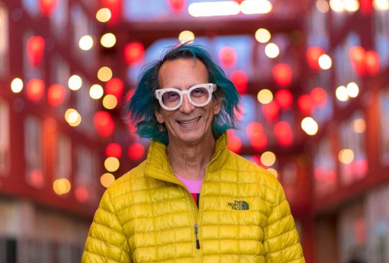 Photo of Glenn Zucman in Chinatown, Los Angeles, 2018
