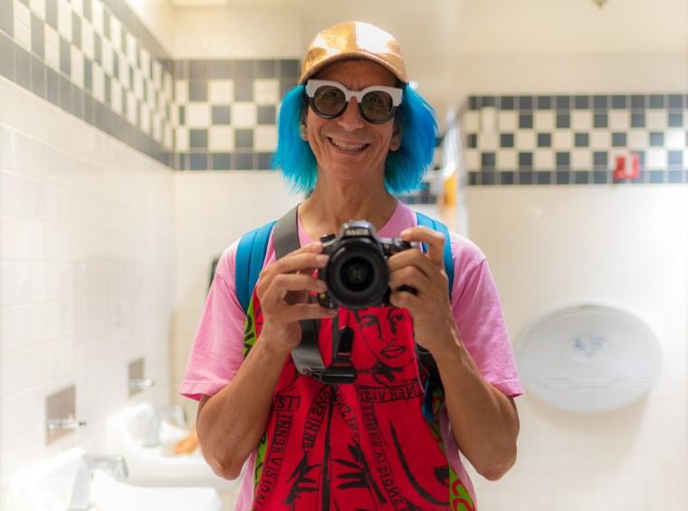 Selfie, Boys' Room, California Science Center