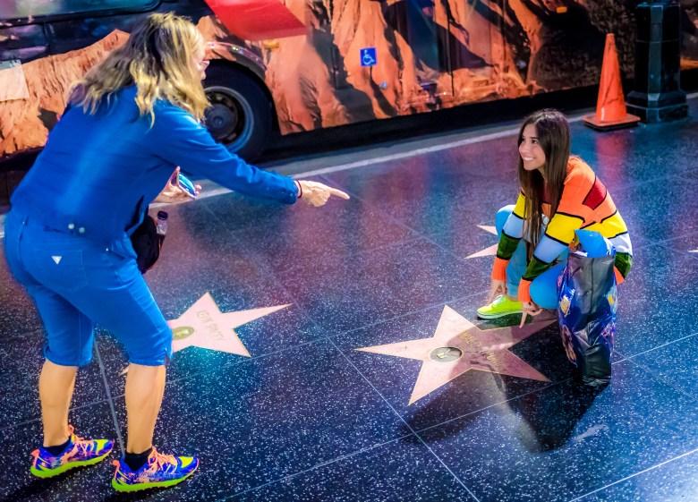 Donald Trump's Star on Hollywood Boulevard. 34.101595, -118.339602