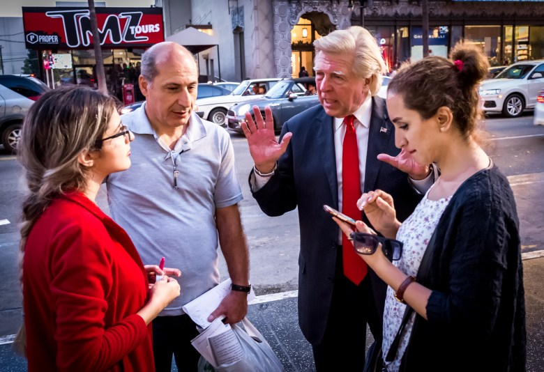Donald Trump's Star on Hollywood Boulevard. 18:33:55 PDT