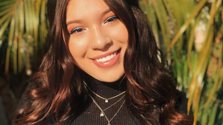 portrait of Long Beach State University Studio Artist Adrianna Wong-Pacheco