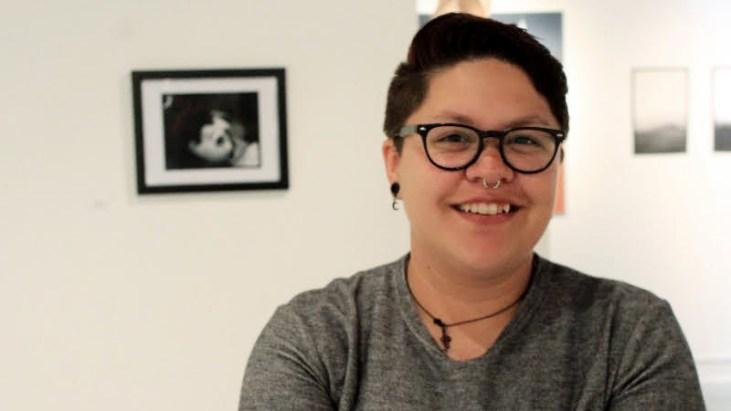 Portrait of artist Victoria Maldonado