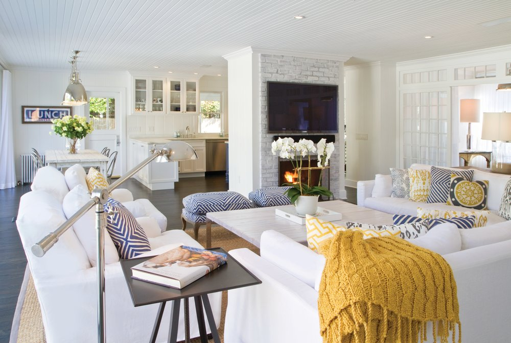 Hamptons Beach House Interior Design