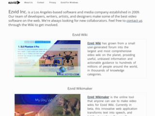 Ezvid for Windows Official Download Page