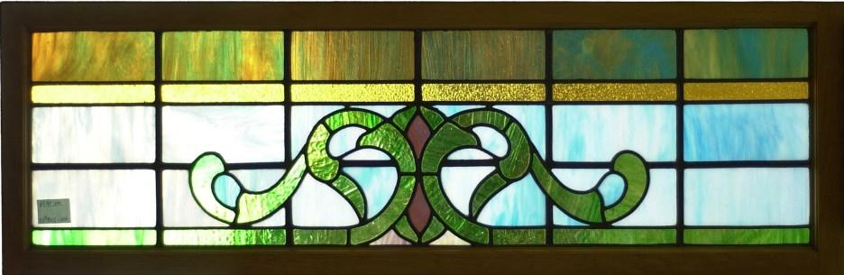 "Victorian Window #1 44 1/4"" x 17"" $520"