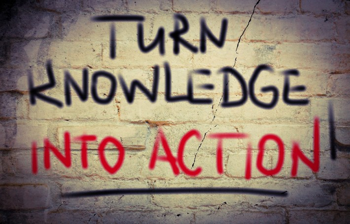 Graphic - Turn Knowledge into Action