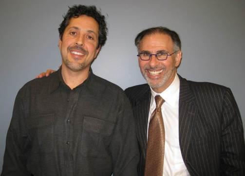 Glenn Sabin and Lee Nadler, MD, standing side by side