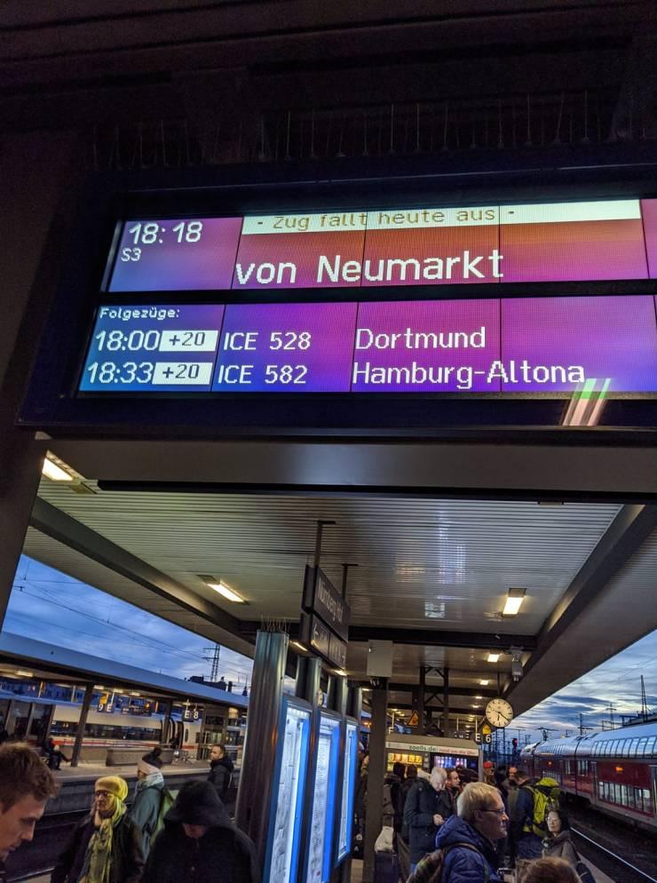 Small Train Delay