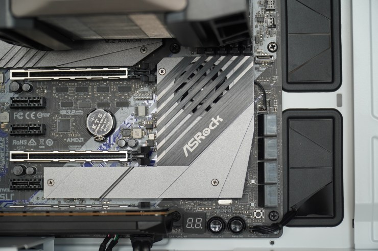 ASRock X570 Creator PCIe slots