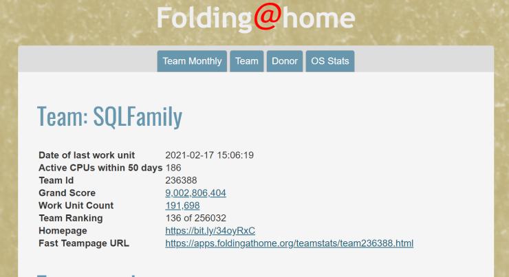 Nine Billion Credits for Folding@Home