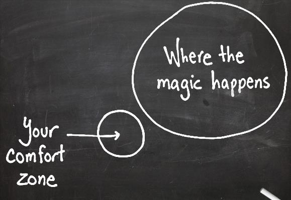Comfort Zone - Magic Happens