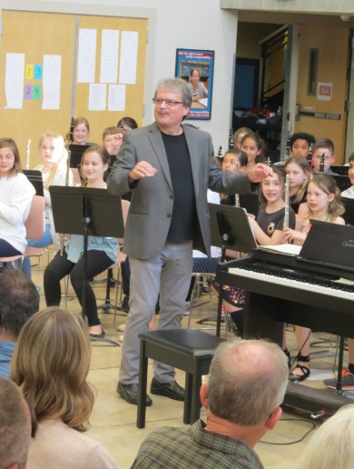 Brad Allison, Band Director, Terrace Park School