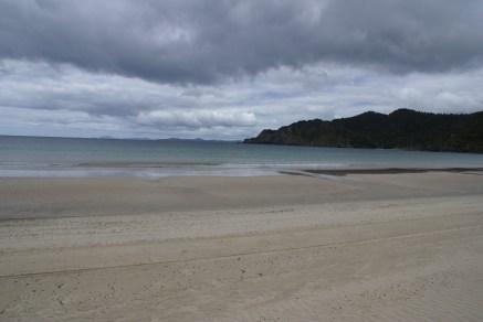 Matauri bay où vu le temps, nous n'avons pas pu nous poser longtemps