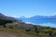 Mt Cook, vue depuis un lookout