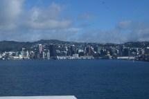 arrivée sur Wellington