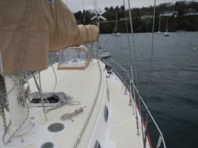 West Wind II new deck
