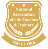 NALCT badge for Glenn Younger, life coach and author of spiritual books