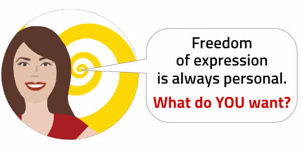 Testimonials: Freedom of Expression