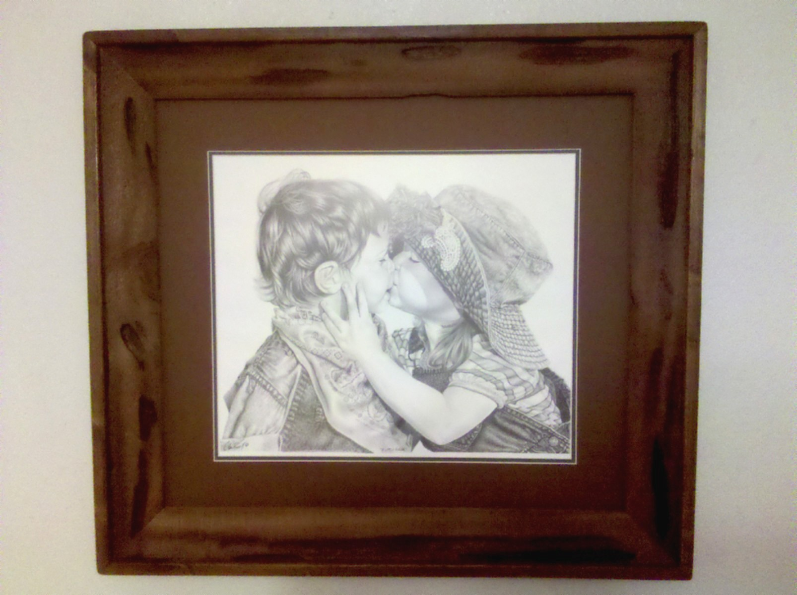 Rustic Cedar Framing Hand Crafted By Glen Powell