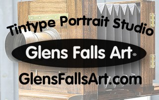 Glens Falls Art tintype studio. Original fine art tintypes with 19th century photographic process in Queensbury, Glens Falls, near you.