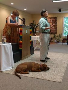 Bob speaks about the souls of animals, with a little help from his dog Rocky.