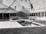 1963 inner courtyard Admin Building