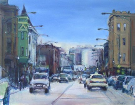 Blur Clark Street