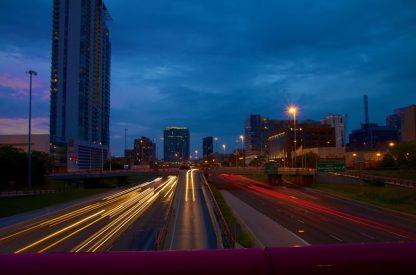 Expressway Light Trails