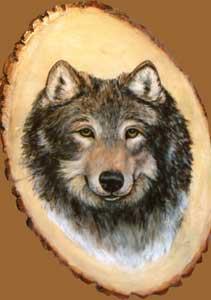 Wolf 4 by Karen Porzak
