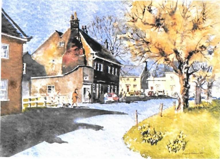 Ripley Village, Yorkshire