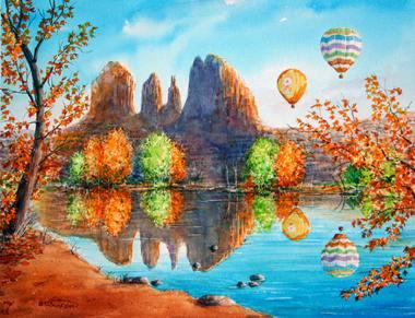 Sedona by Jim Brooksher