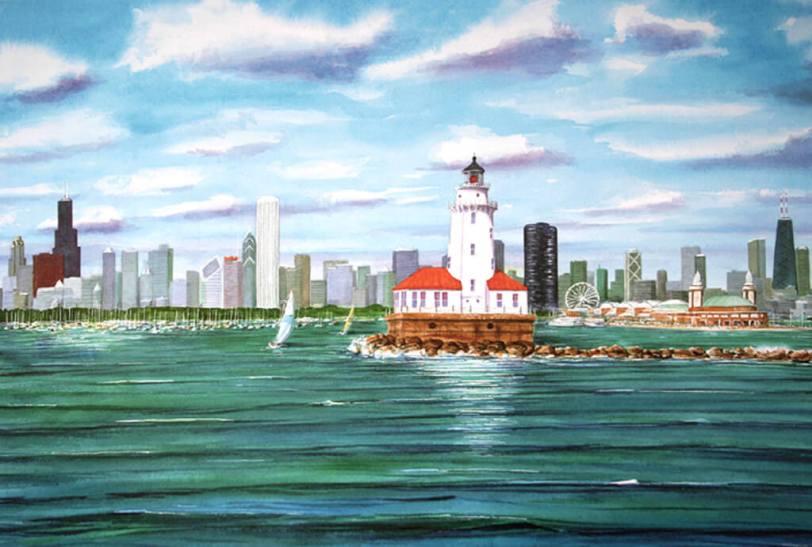 Windy City by Jim Brooksher