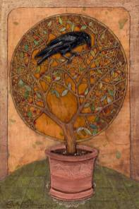 stephen steininger raven in tree
